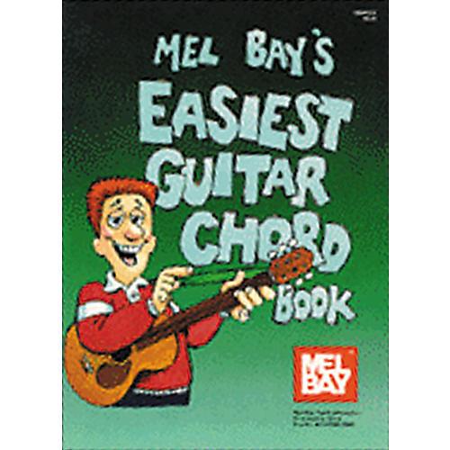 Mel Bay Easiest Guitar Chord Book-thumbnail