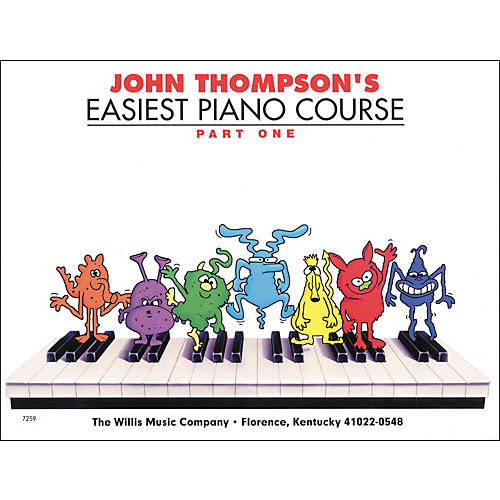 Hal Leonard Easiest Piano Course Part 1 Book-thumbnail
