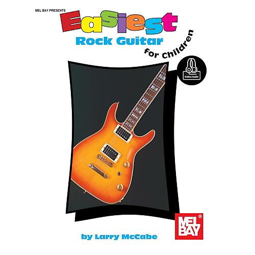 Mel Bay Easiest Rock Guitar for Children, Book plus Online Audio