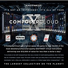 EastWest EastWest Composer Cloud X Yearly Subscription