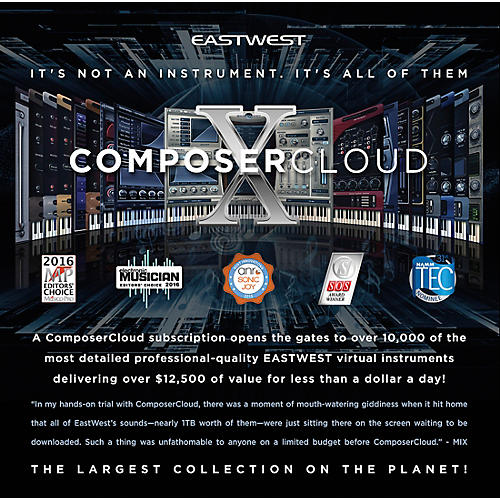 EastWest EastWest Composer Cloud X Yearly Subscription-thumbnail