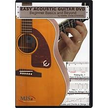 MJS Music Publications Easy Acoustic Guitar DVD: Beginner Basics and Beyond