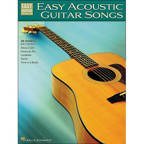 Hal Leonard Easy Acoustic Guitar Songs Easy Guitar Tab-thumbnail