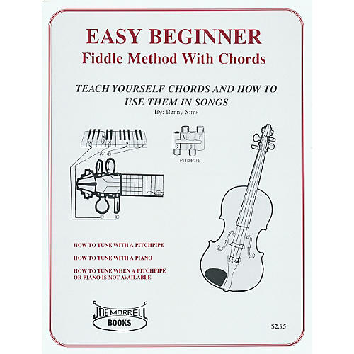 Morrell Music Easy Beginner Fiddle Methods Book