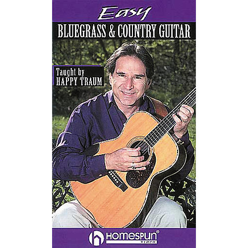 Homespun Easy Bluegrass and Country Guitar (VHS)