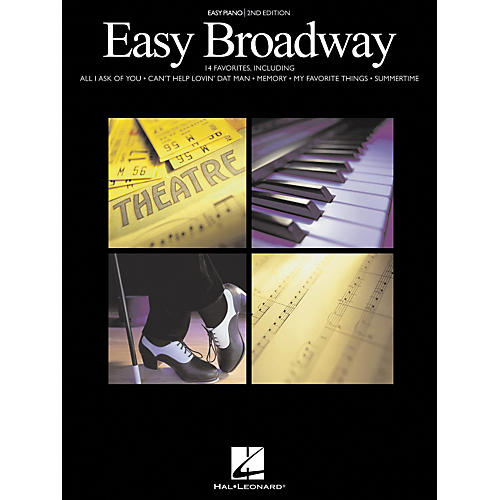 Hal Leonard Easy Broadway For Easy Piano 2nd Edition-thumbnail