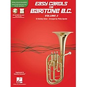 Hal Leonard Easy Carols for Baritone B.C. - Vol. 2 Instrumental Folio Series Softcover Media Online
