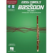 Hal Leonard Easy Carols for Bassoon, Vol. 1 (15 Holiday Solos) Instrumental Folio Series Softcover Media Online
