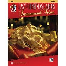 Alfred Easy Christmas Carols Instrumental Solos Flute Book & CD