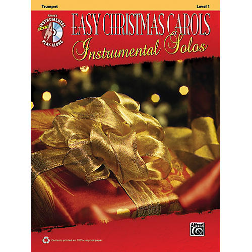 Alfred Easy Christmas Carols Instrumental Solos Trumpet Book & CD-thumbnail