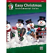 Alfred Easy Christmas Instrumental Solos Level 1 Flute Book & CD