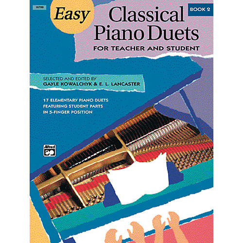 Alfred Easy Classical Piano Duets for Teacher and Student Book 2-thumbnail