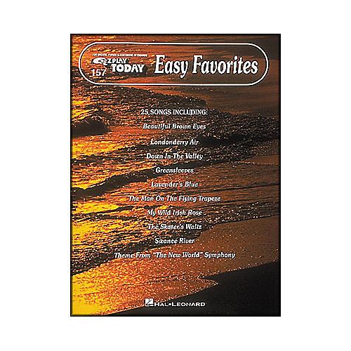 Hal Leonard Easy Favorites E-Z Play 157-thumbnail