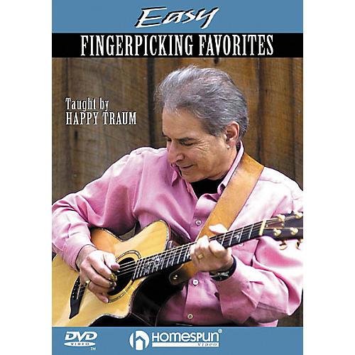 Homespun Easy Fingerpicking Favorites (DVD)