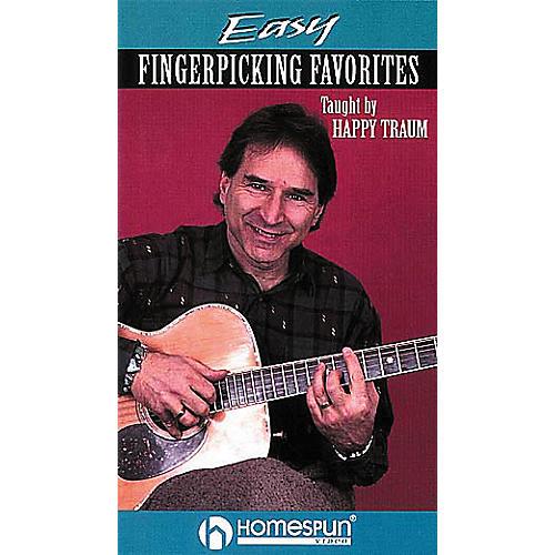 Homespun Easy Fingerpicking Favorites (VHS)
