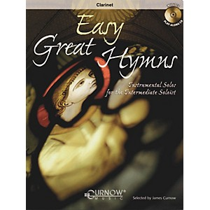 Curnow Music Easy Great Hymns Bb Clarinet/Bb Bass Clarinet - Grade 2 Conc... by Curnow Music