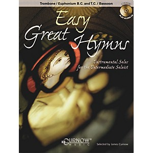 Curnow Music Easy Great Hymns Trombone/Euphonium BC or TC/Bassoon - Grad...