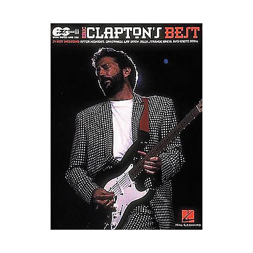 Hal Leonard Easy Guitar - Best of Eric Clapton Book-thumbnail