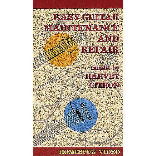Hal Leonard Easy Guitar Maintenance and Repair Video-thumbnail
