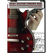 MJS Music Publications Easy Guitar Theory (DVD)