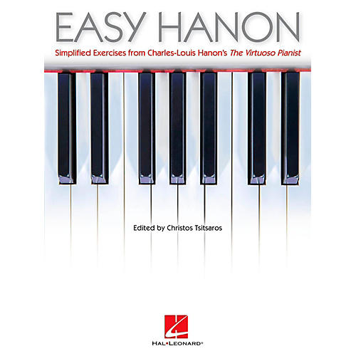 Hal Leonard Easy Hanon - Simplified Exercises from Charles-Louis Hanon's The Virtuoso Pianist-thumbnail