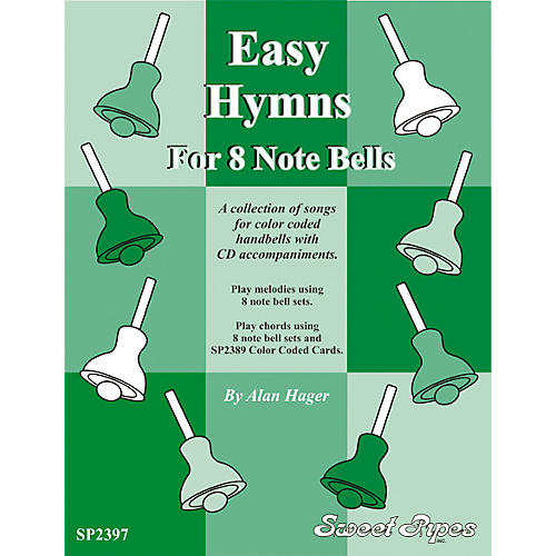 Rhythm Band Easy Hymns - 12 Hymns for 8 Note Handbells & Deskbells Book with CD-thumbnail