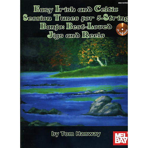 Mel Bay Easy Irish and Celtic Tunes for 5-String Banjo Book/CD Set