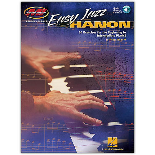Hal Leonard Easy Jazz Hanon - 50 Exercises for the Beg to Int Pianist (Book/Audio Online)