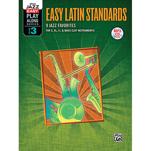 Alfred Easy Latin Standards Flexible Instrumentation Book & CD-thumbnail