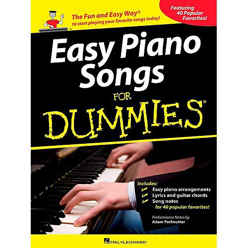 Hal Leonard Easy Piano Songs For Dummies