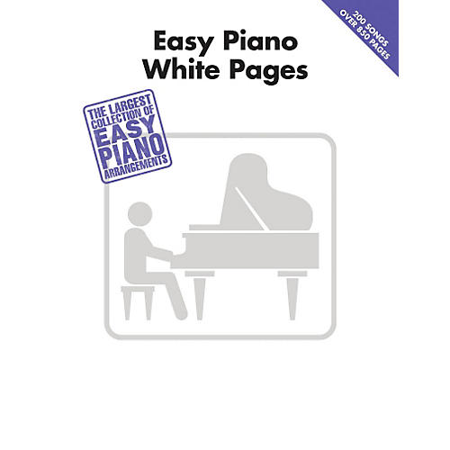Hal Leonard Easy Piano White Pages