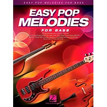 Hal Leonard Easy Pop Melodies For Bass