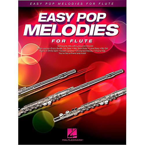 Hal Leonard Easy Pop Melodies For Flute