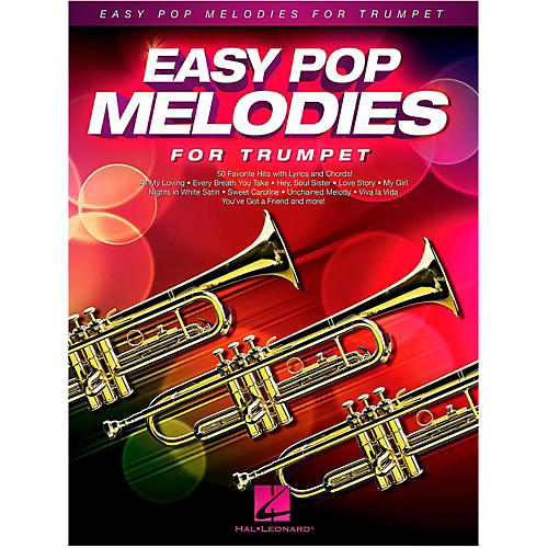 Hal Leonard Easy Pop Melodies For Trumpet
