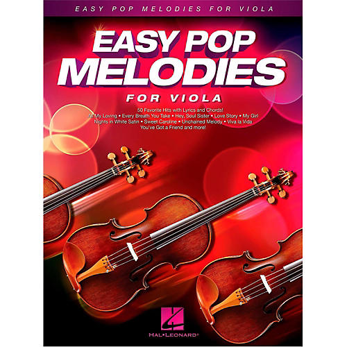 Hal Leonard Easy Pop Melodies For Viola-thumbnail