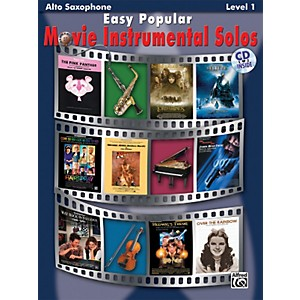 Click here to buy Alfred Easy Popular Movie Instrumental Solos by Alfred.