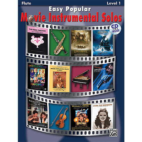 Alfred Easy Popular Movie Instrumental Solos Flute