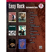Alfred Easy Rock Instrumental Solos Level 1 Trumpet Book & CD