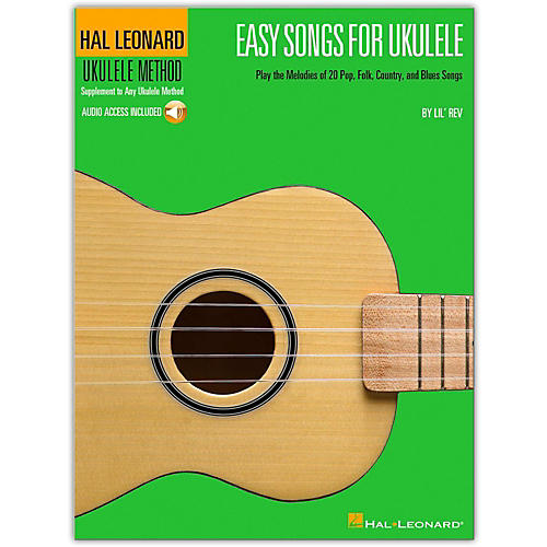 Hal Leonard Easy Songs for Ukulele - Supplementary To The Hal Leonard Ukulele Method (Book/Online Audio)
