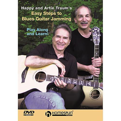 Homespun Easy Steps to Blues Guitar Jamming (DVD)-thumbnail
