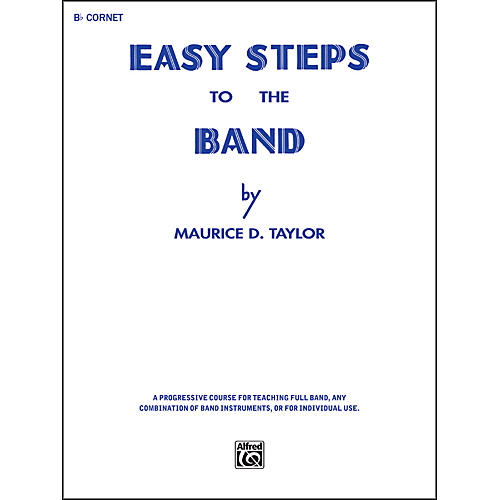 Alfred Easy Steps to the Band B-Flat Cornet (Trumpet)-thumbnail