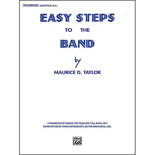 Alfred Easy Steps to the Band Trombone & Baritone B.C.-thumbnail