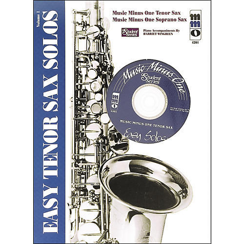 Hal Leonard Easy Tenor Saxophone Solos: Student Edition-thumbnail