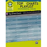 BELWIN Easy Top of the Charts Playlist Instrumental Solos Trumpet Book & CD Level 1
