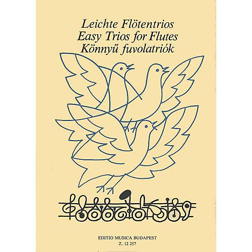 Editio Musica Budapest Easy Trios for Flutes EMB Series Composed by László Csupor