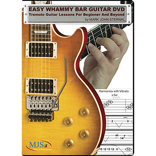 MJS Music Publications Easy Whammy Bar Guitar DVD-thumbnail