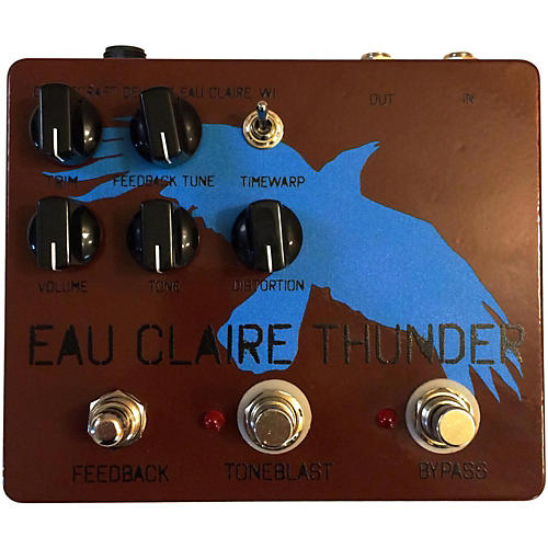 Dwarfcraft Eau Claire Thunder Fuzz Guitar Effects Pedal-thumbnail