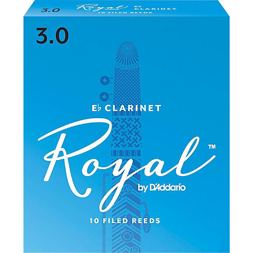 Rico Royal Eb Clarinet Reeds, Box of 10-thumbnail