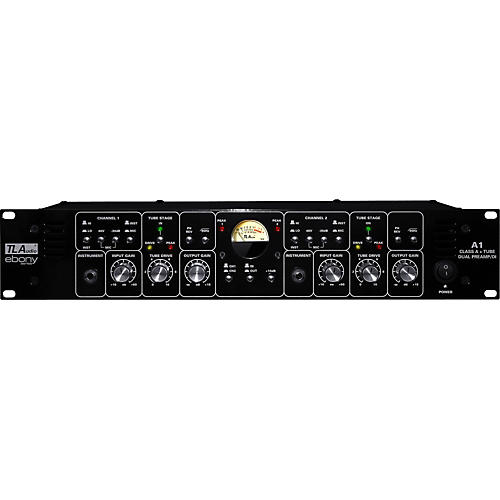 TL Audio Ebony A1 Discrete Class A and Tube Dual Preamp/DI-thumbnail
