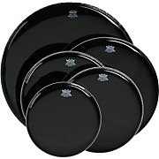 Remo Ebony Black Ambassador Resonant Bass Drumhead